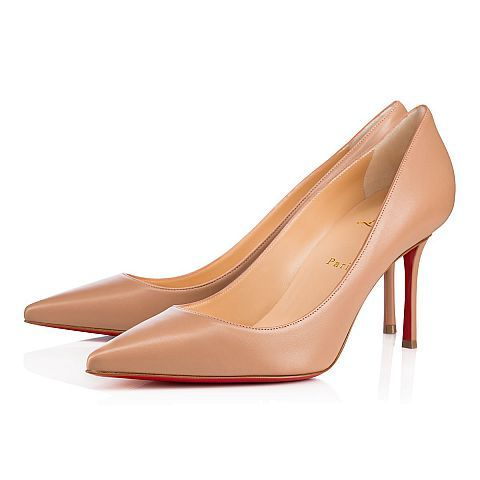 265ca6965657 CHRISTIAN LOUBOUTIN Decoltish 85 Nude Leather - Women Shoes - Christian  Louboutin.  christianlouboutin  shoes