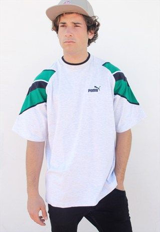 PUMA VINTAGE T-SHIRT. Vintage T ShirtsPumasUrban OutfittersSoftshellPoloSportswearAsosSport  ClothingVintage Shirts