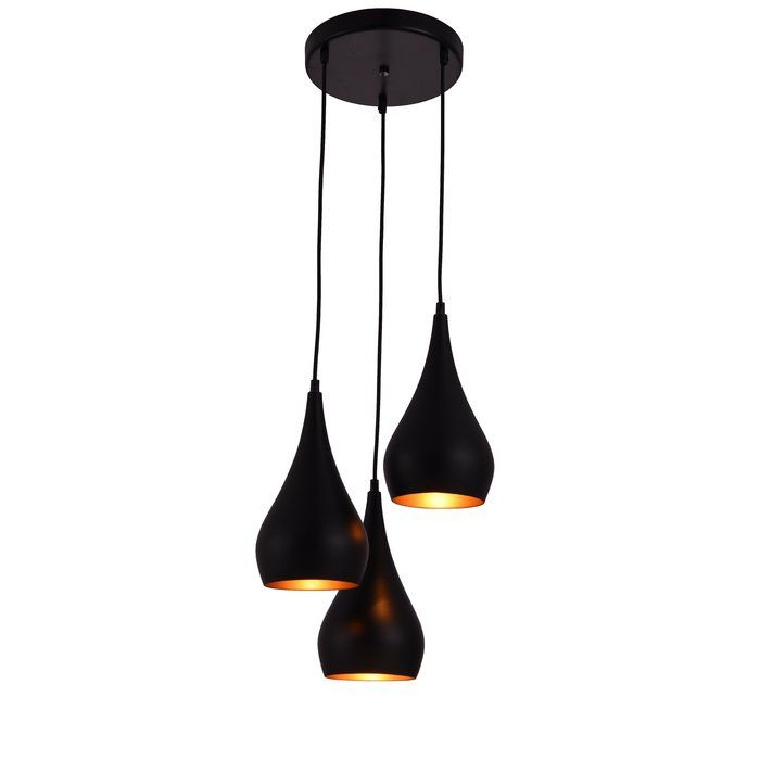 Nora 3 Light Cascade Pendant Pendant Lighting 3 Light Pendant Pendant Light