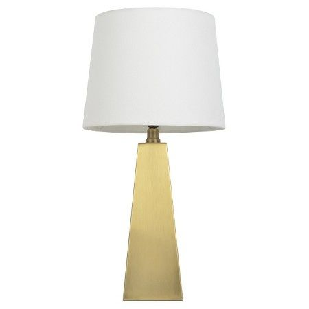 Metal Tapered Table Lamp Touch Control Gold Pillowfort Target Table Lamp Lamp Pillow Fort