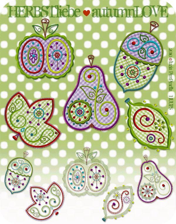 luzia pimpinella: stickdateien | embroidery