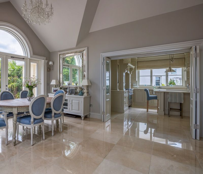 These Exquisite Polished Crema Marfil Alba Floor Tiles Are From Tilestyle Dublin Luxury Marble Flooring Marble Floor Marble Tile Floor