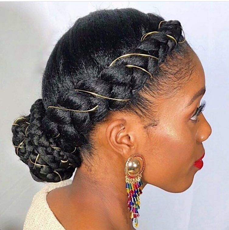 Cornrows Ii Side Hair Styles Cornrow Hairstyles Natural Hair Styles