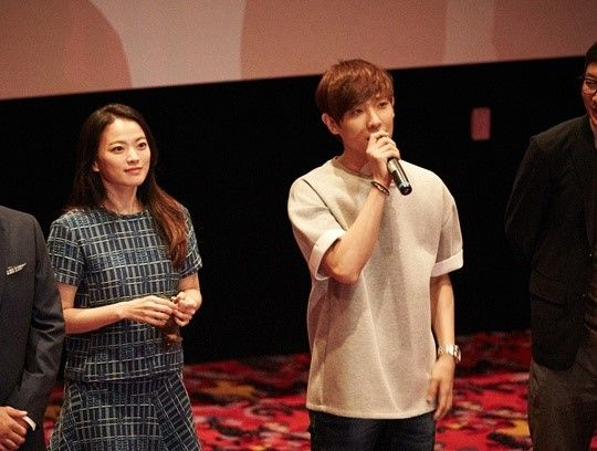 [STARCAST] Lee Joon and Chun Woo-Hee's stage greeting site for movie 'The Guest'