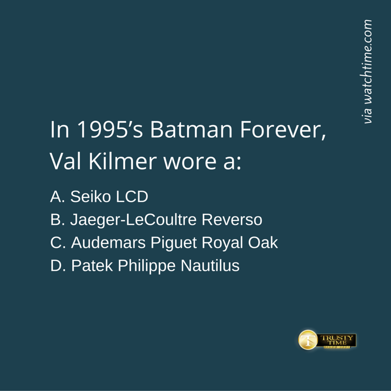 And here's question no 5! Can you answer? #Seiko #Rolex #Tissot