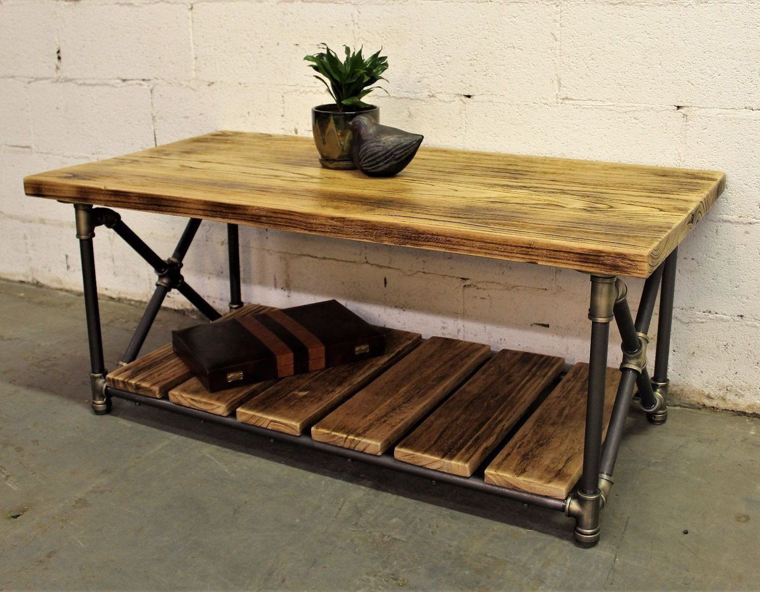Superbe Houston Industrial Coffee Table