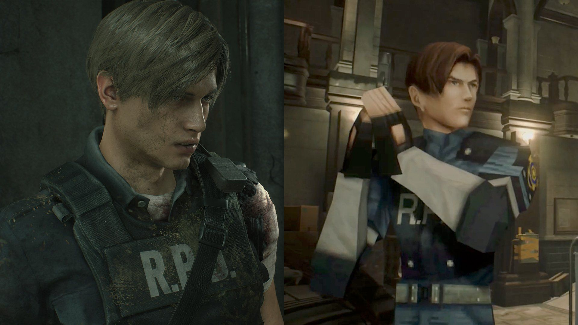 Classic Low Poly Dlc Is Headed To Resident Evil 2 Remake With