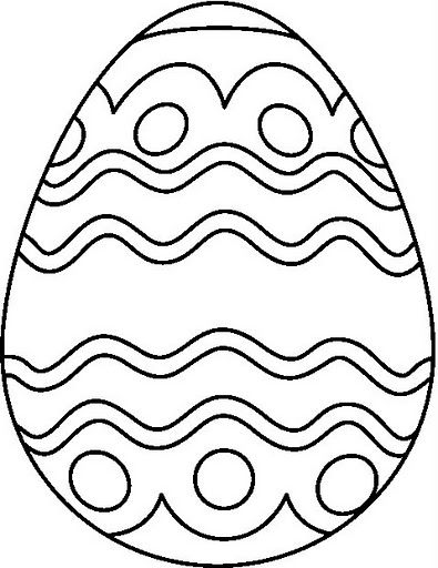 egg coloring pages Google Search Coloring Easter Pinterest