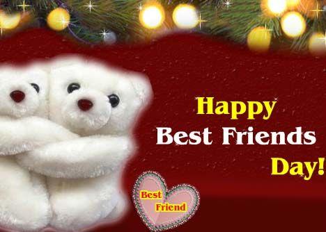 "Send a cuddly hug to your ""Best Friend""on this #BestFriendsDay"