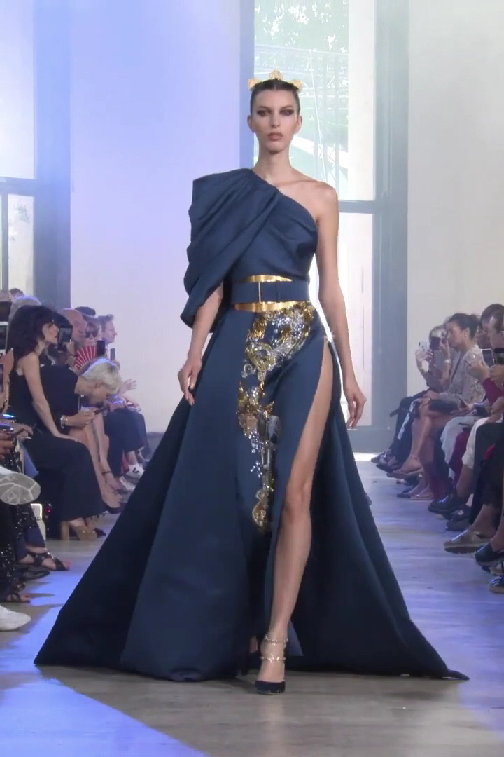 Elie Saab Look 37 Autumn Winter 2019 2020 Haute Couture Collection Fashion Dresss Fashion Couture Dresses