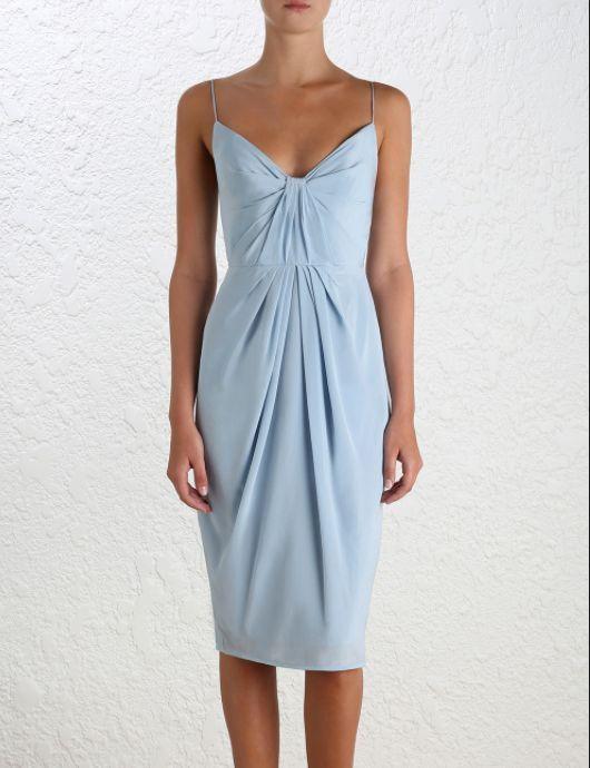 f3a6a6c2fbb Zimmermann Silk Folded Dress