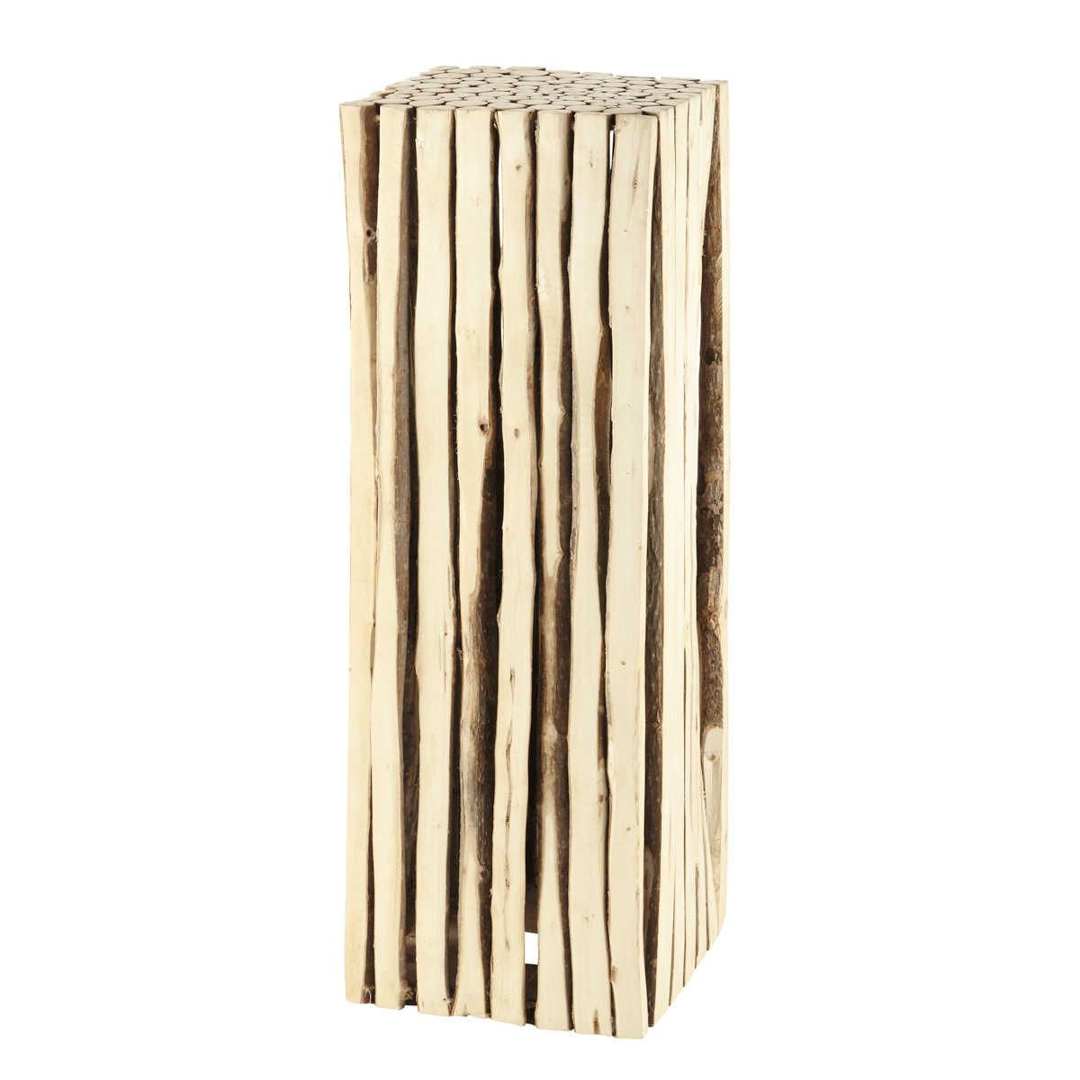 colonne dco en bois h 95 cm rivage
