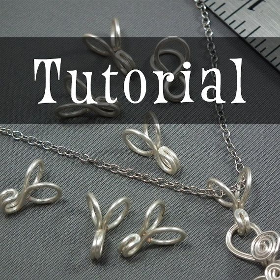 TUTORIAL: Handmade Pendant Bail (Wire-Wrapped Pendant Bail ...