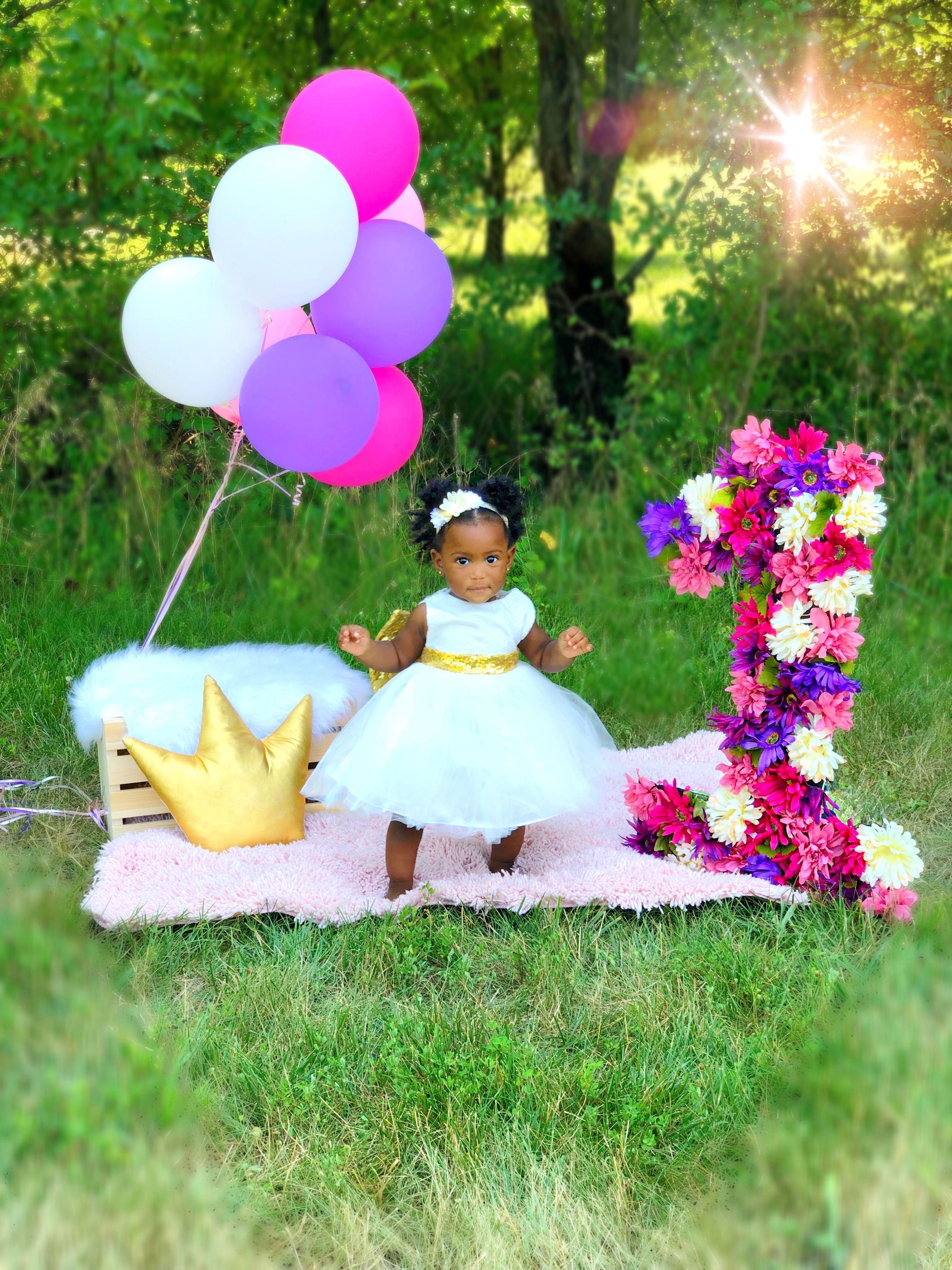 birthday photoshoot ideas for baby girl