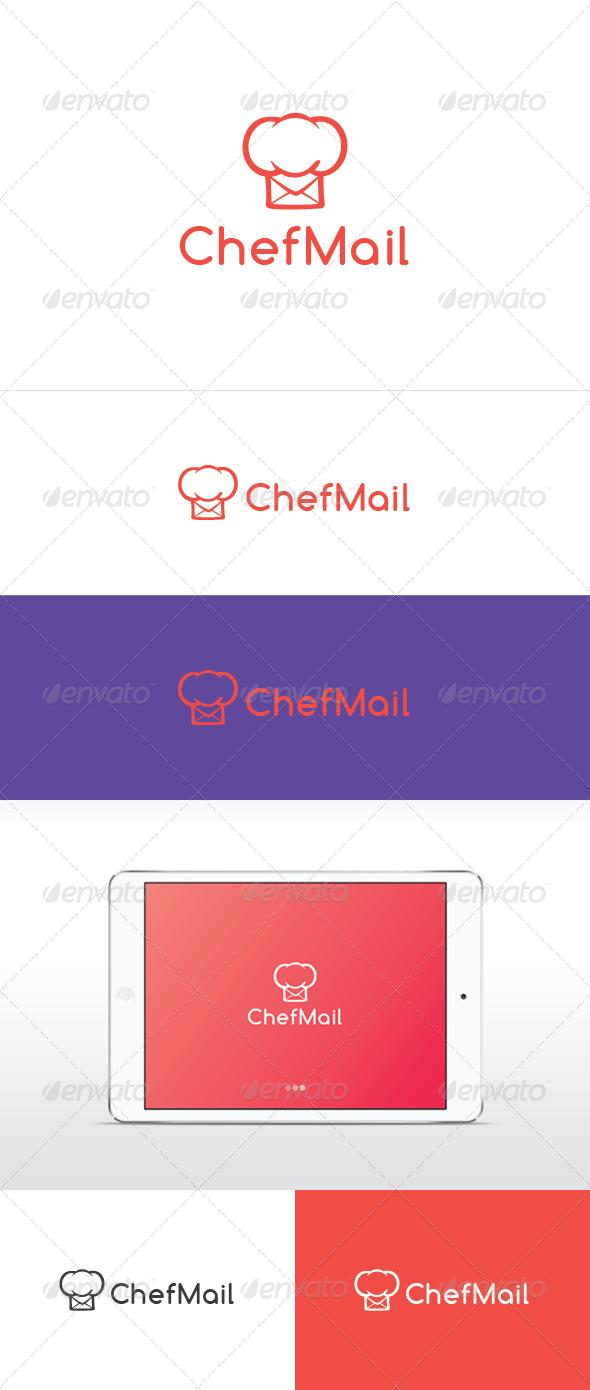 Chef Mail  Logo Templates Logos And Creative Design