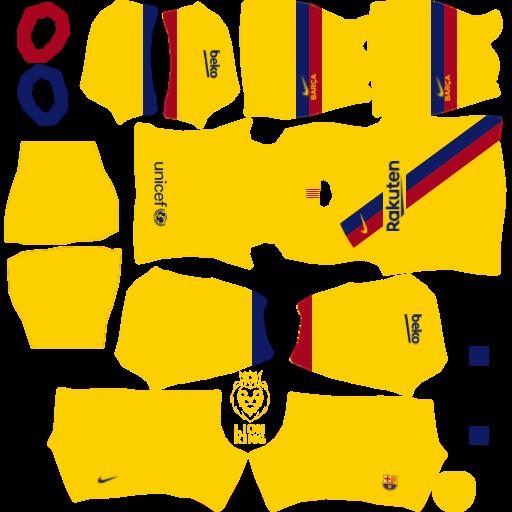10+ Fc Barcelona Kit 2020/21 Dls