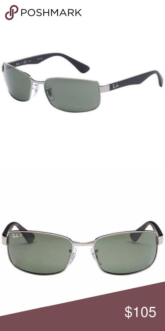 063779973e Ray-Ban RB3478 Gunmetal 60mm Frames Green Lenses Ray-Ban RB3478 004 ...