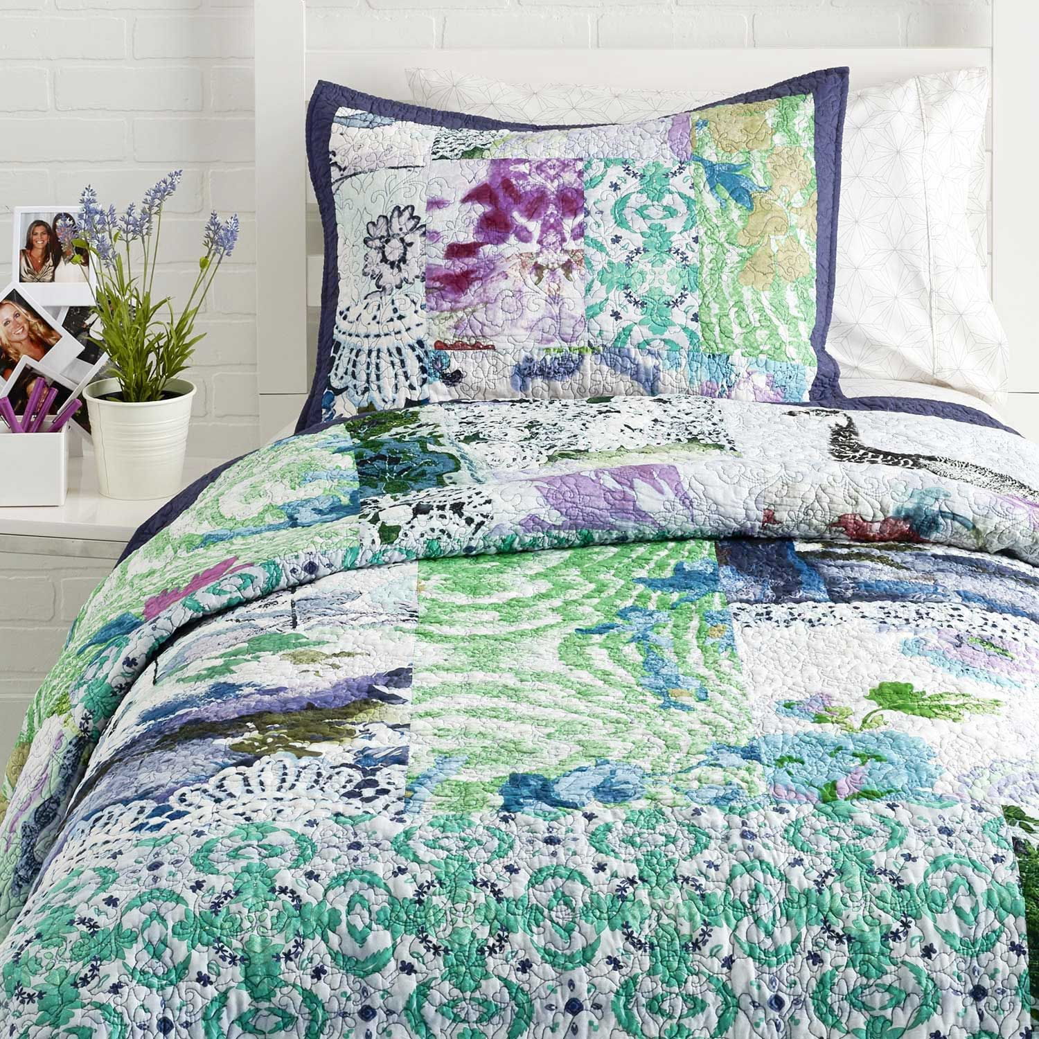 Poetic Wanderlust By Tracy Porter Adrienne Quilt Duvet Covers