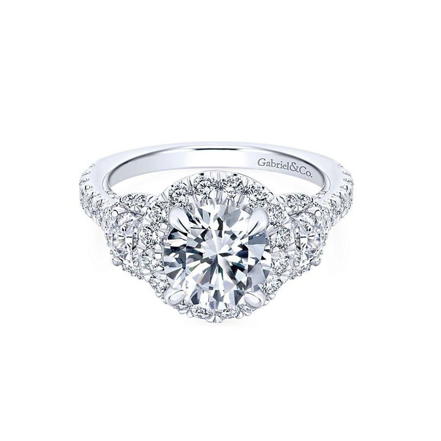 6587e863102 60 Classic Engagement Rings For the Timeless Bride