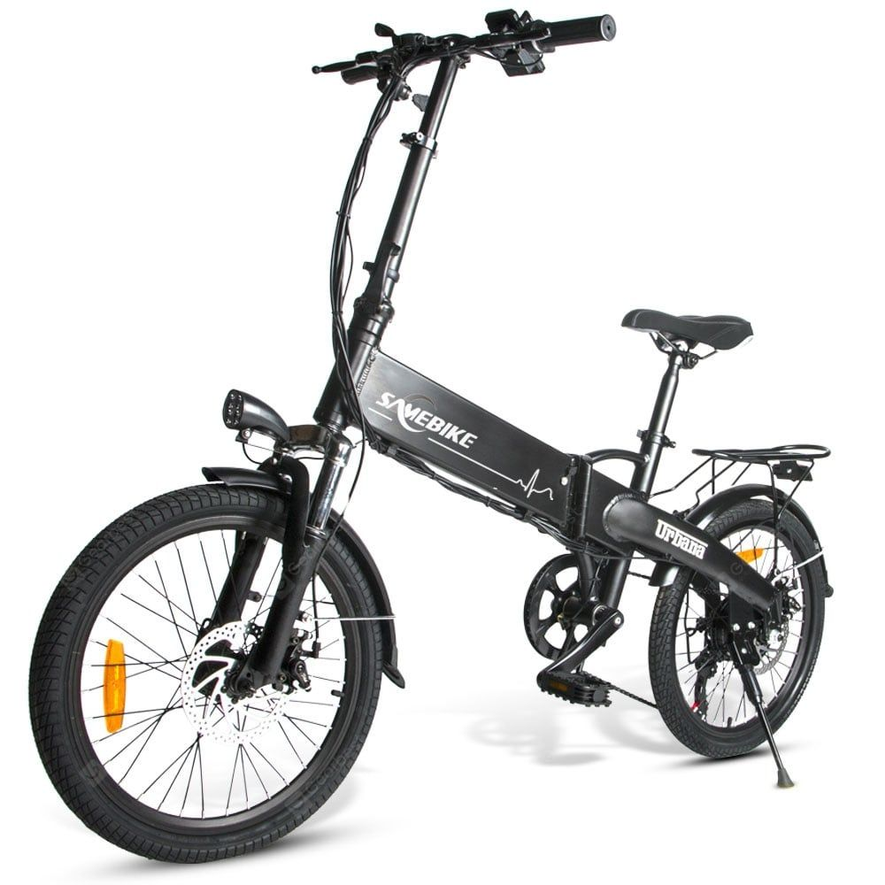 Samebike Jg20 Smart Folding Electric Moped Bike New Style E Bike