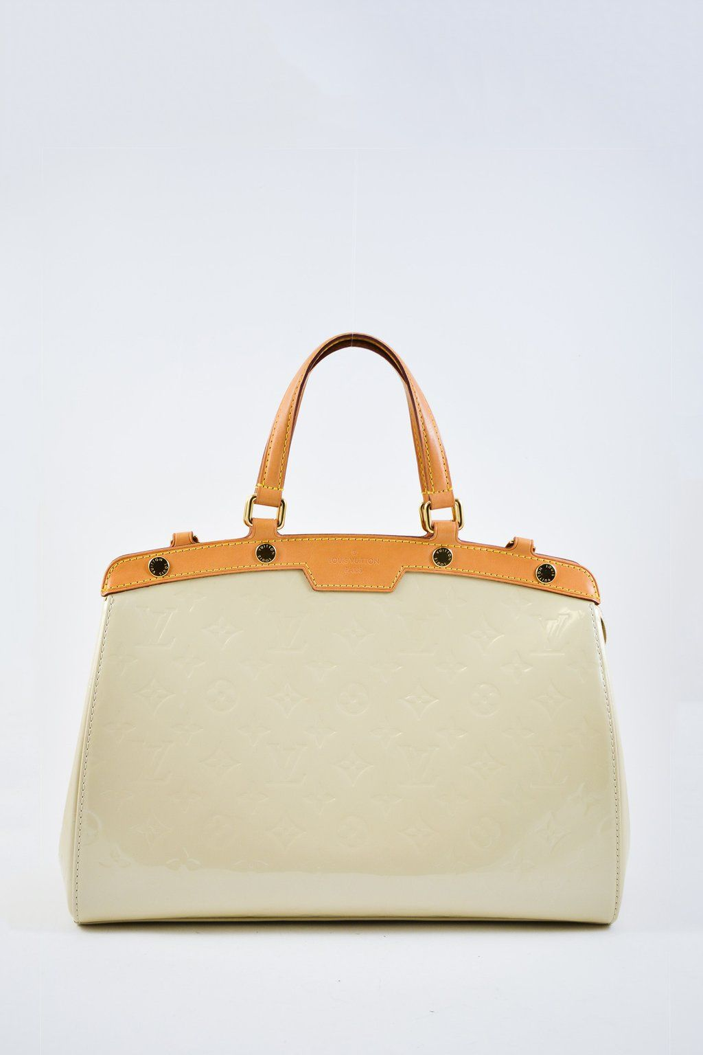 6c19e2c99650 Louis Vuitton Blanc Corail Vernis Brea MM Retail  4000  MineAndYours ...