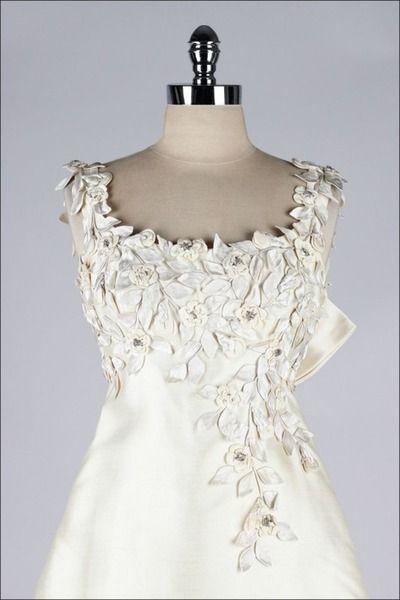 Saks Fifth Avenue Wedding Dress 1960s
