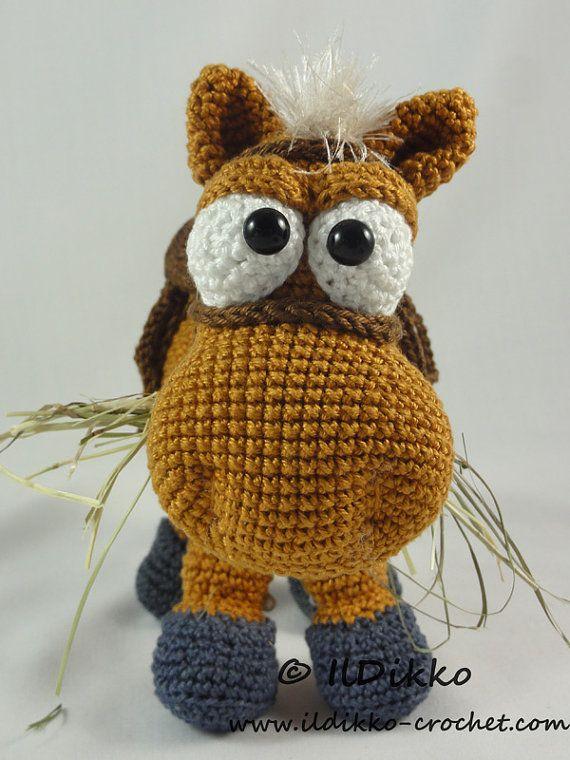 Amigurumi Crochet Pattern Herbert the Horse by IlDikko on Etsy ...