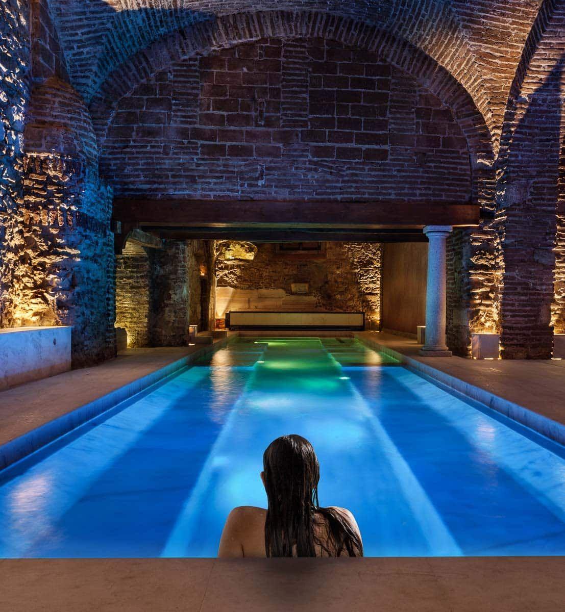 Roman Baths In Acqua Veritas Spa Roman Baths Thermal Spa Spa
