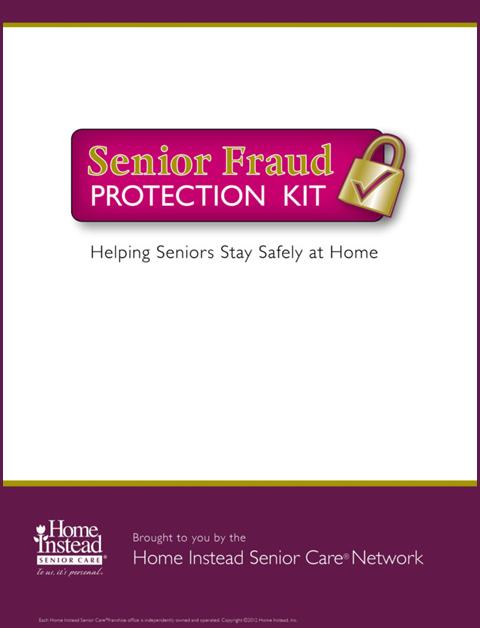 Senior Fraud Protection Kit Fraud Protection Fraud Family Caregiver