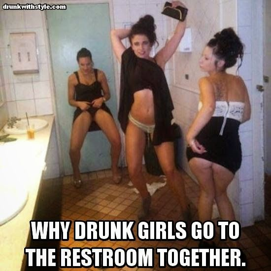 wives getting drunk and naked together