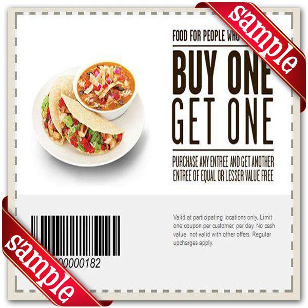 Souper Salad Printable Coupon May 2020 Chipotle Mexican Grill Printable Coupons Coupons
