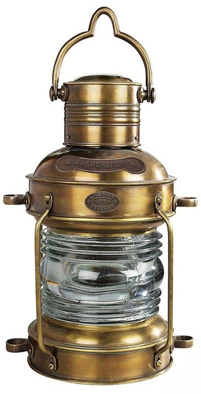 Brass Copper Anchor Oil Lamp Nautical Ship Lantern Boat Lamp Gift Item