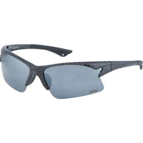 Pugs Elite Series Sport Blade Sunglasses Black Grey Rack