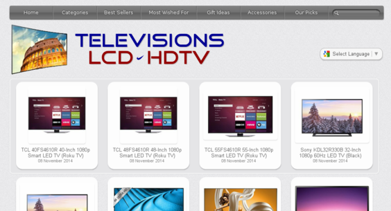 Popular HD TV and MultiMedia store. 100% Automated Amazon Income. No reserve price auction - your first bid can win ! Enjoy ! http://www.televisionslcdhdtv.com/