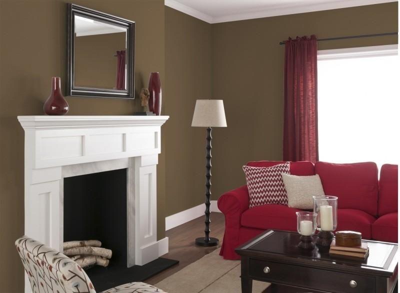 Dekorieren Sie originale Farbenwände für das Wohnzimmer Pinterest