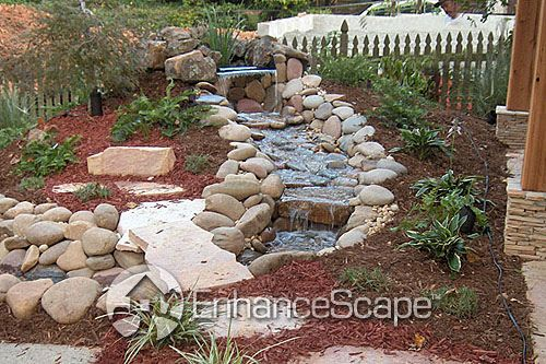 backyard water feature ideas  nh backyard, Backyard Ideas