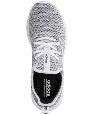 2b7b4207 adidas Women's Cloudfoam Pure Running Sneakers from Finish Line - White 6.5