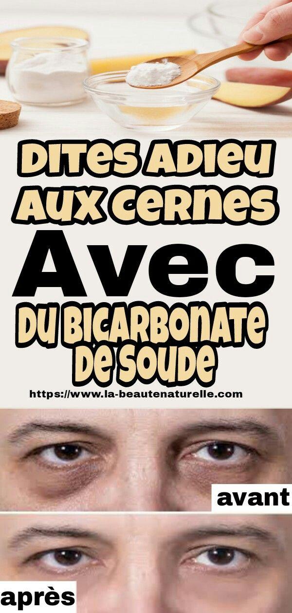 Dites adieu aux cernes avec du bicarbonate de soude beaut masque bicarbonate bicarbonate - Masque anti cerne maison ...