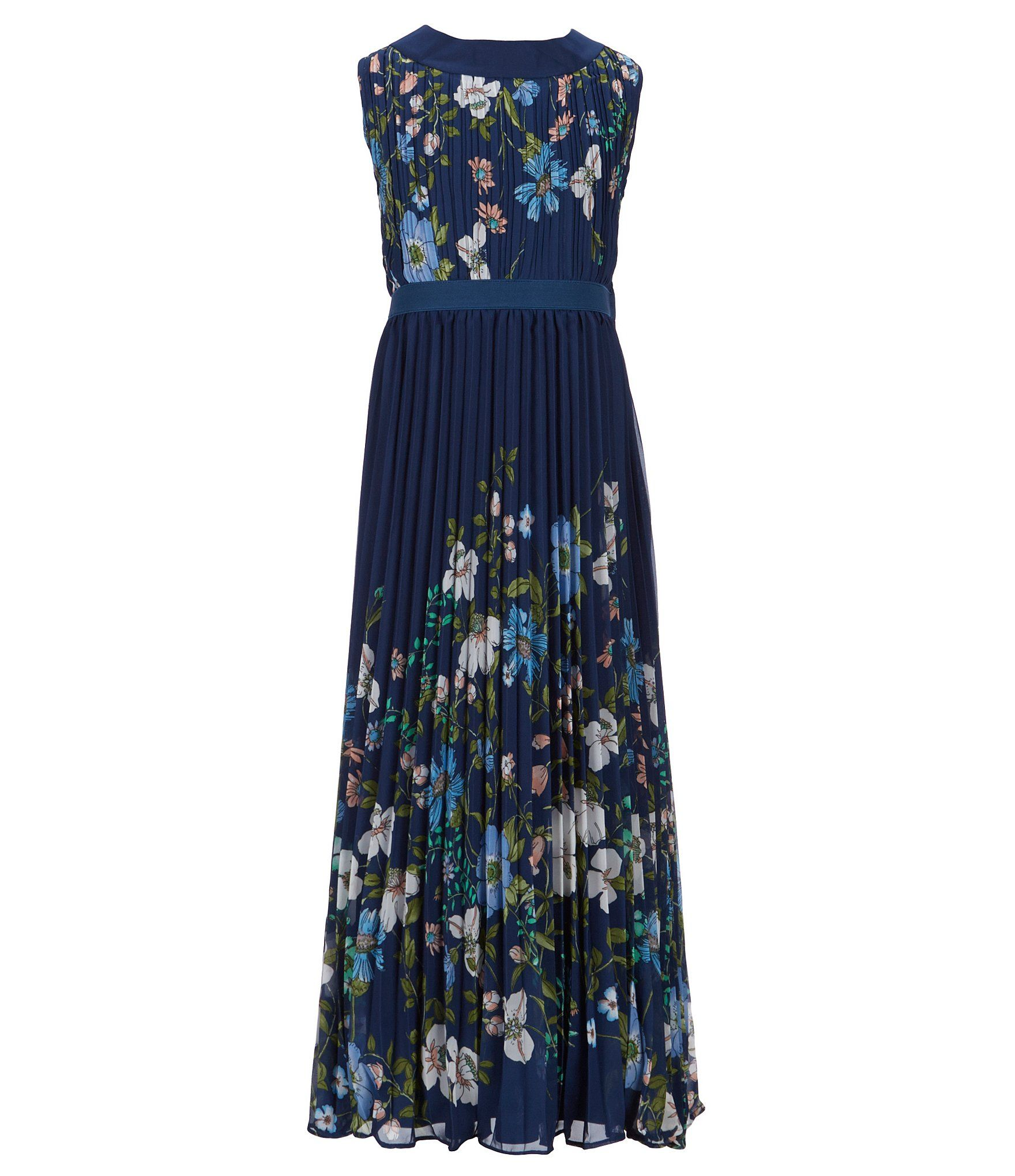 04e3844b607 Rare Editions Big Girls 716 Floral Pleated Maxi Dress  Dillards. Shop for Rare  Editions Big Girls 7-16 ...