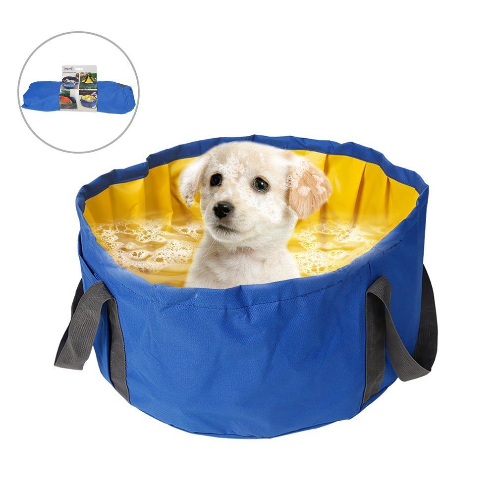 Qbleev Pet Cat Puppy Shower Dog Bathtub Bathing Tub Swimming Pool