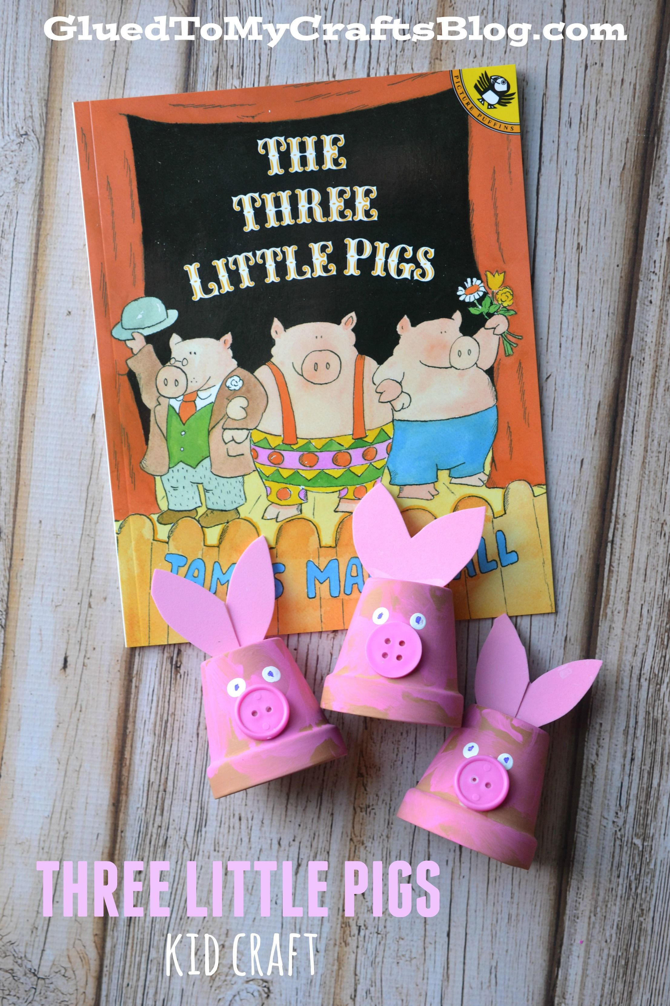 Three Little Pigs Kid Craft