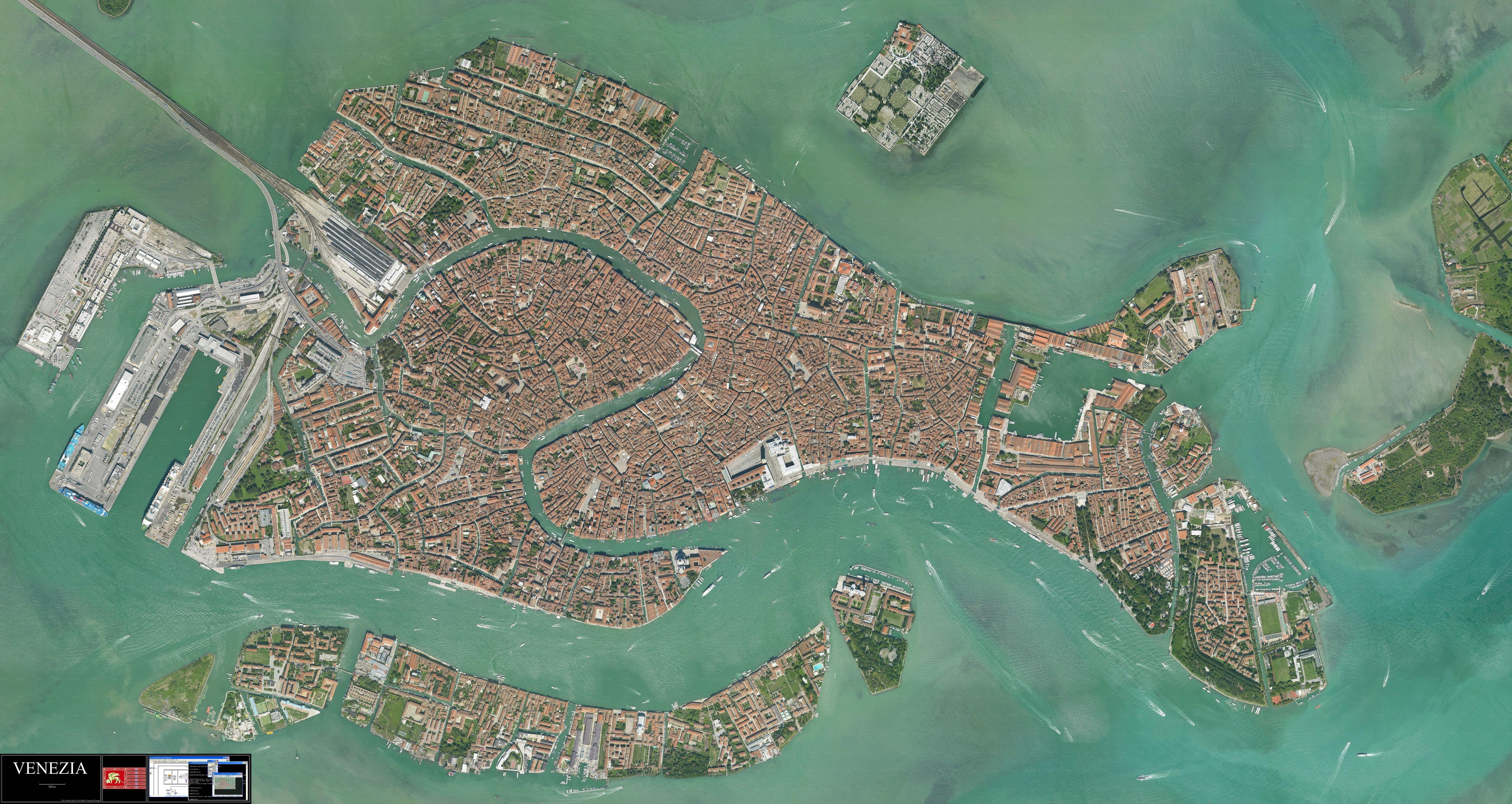 Super Hi Res Photo Of Venice 10000 X 5319