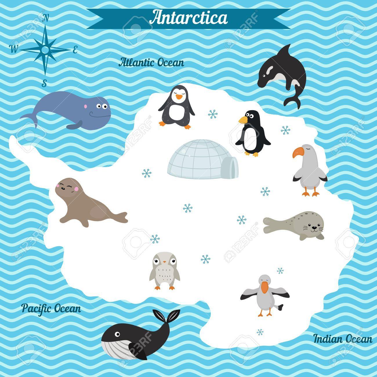 Dibujo Del Continente De Antartida Para Ninos Busqueda De Google Actividades De Reciclaje Para Ninos Mapas Para Ninos Libros Didacticos Para Ninos