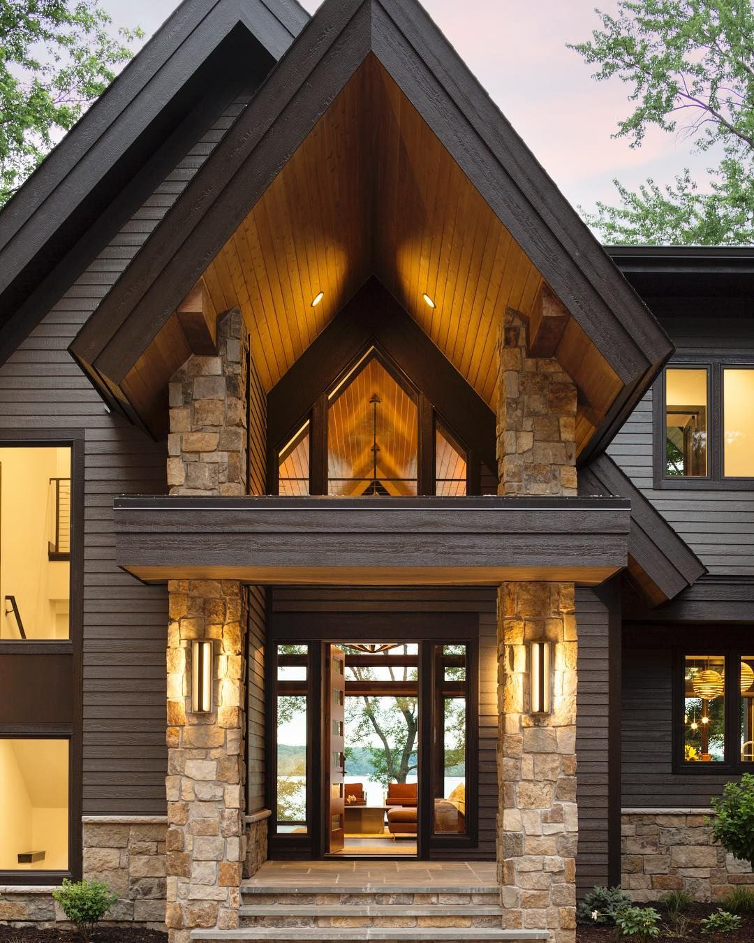 Unique Home Exterior Design: This Modern Masterpiece From Denali Custom Homes Has