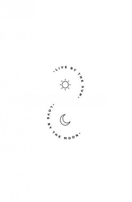 26 super ideas for tattoo moon stars sun quotes
