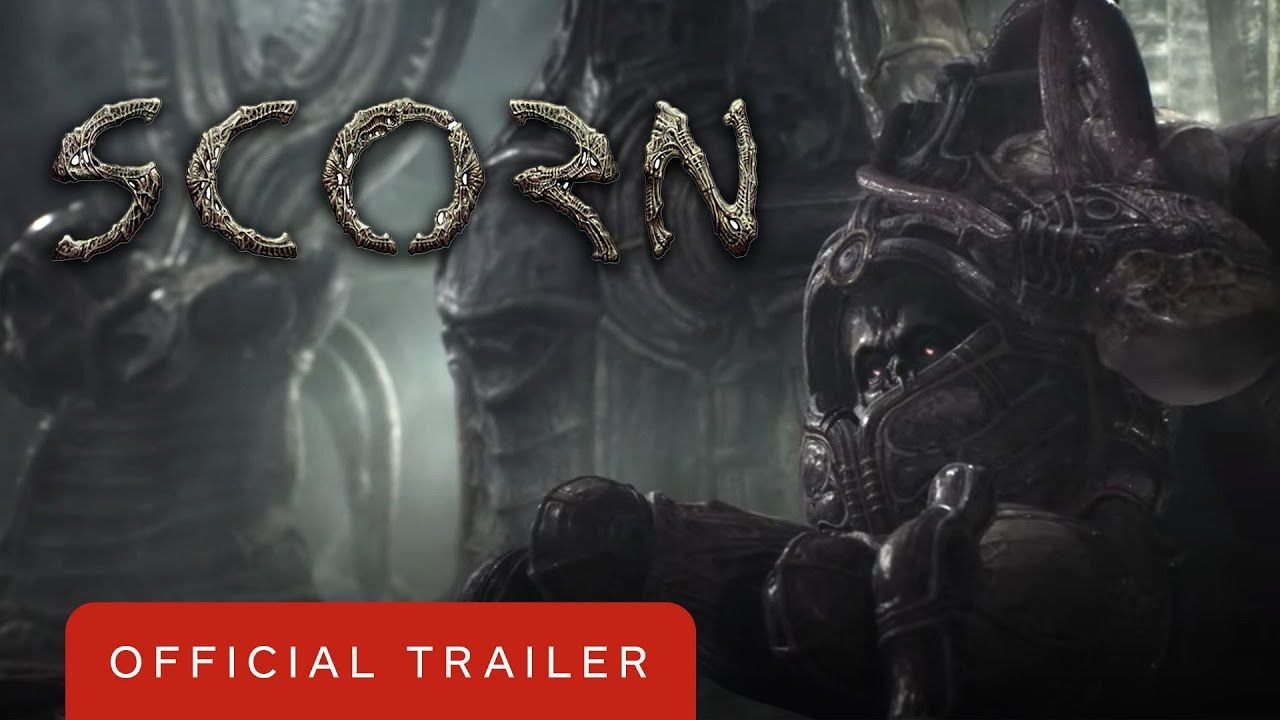 Scorn Xbox Series X Gameplay Reveal Trailer Inside Xbox In 2020 Game Trailers Gameplay Xbox