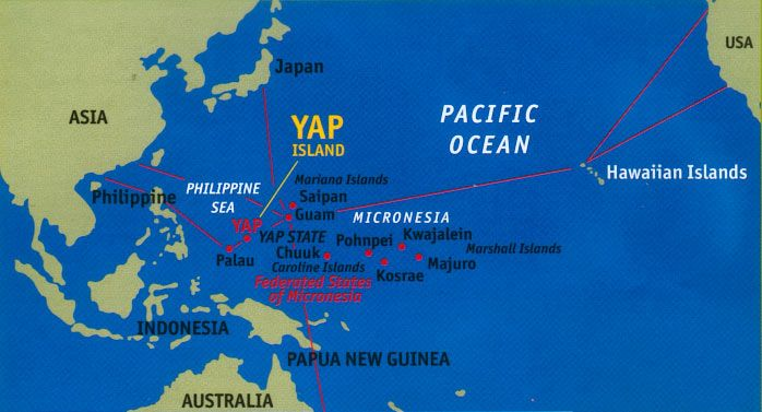Micronesia Precipitation for 3 hrs ending Saturday 19 Oct ...   Micronesia Map Range
