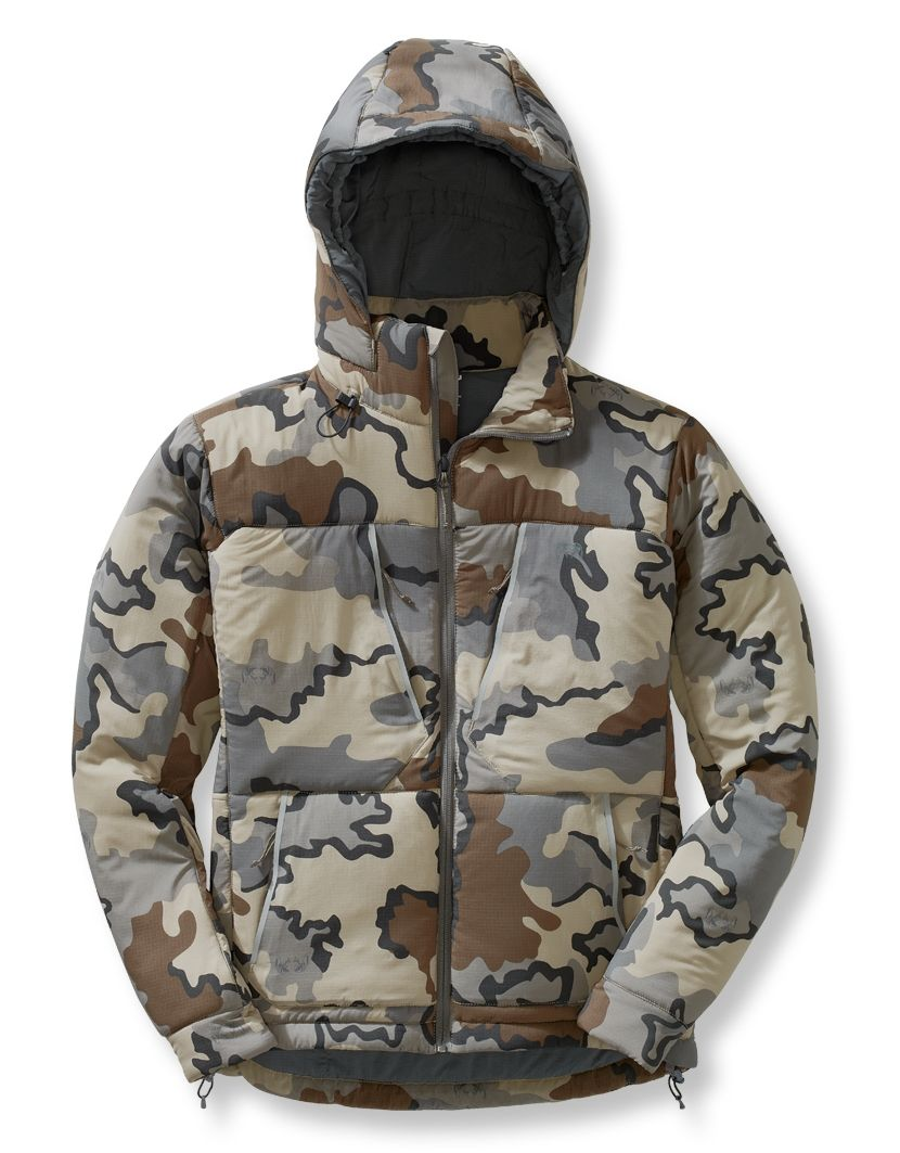 """f18b4019f93 Kuiu """"Kenai"""" Hooded Jacket (Spring 2015)  The lack of coating on the light  weight face fabric makes it absolutely dead quiet and perfect for stalking  in ..."""
