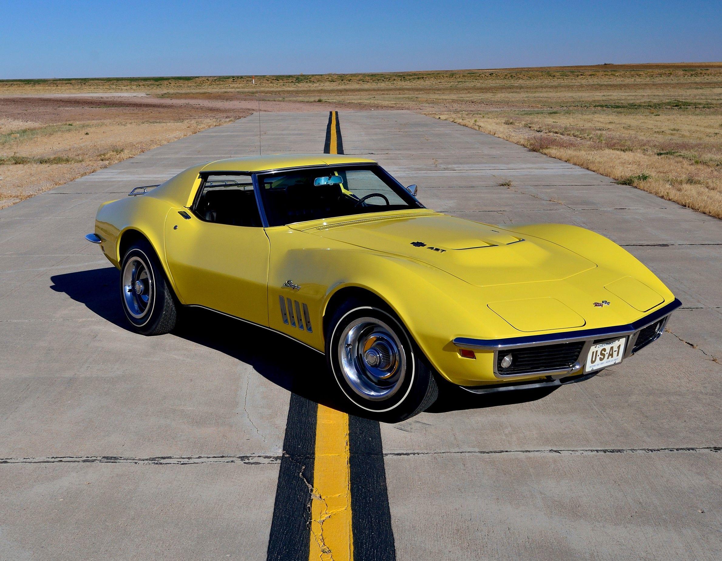 1969 c3 stingray l71 427435 hp sport coupe chevrolet