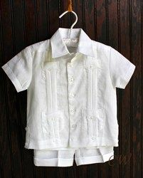30a611f57 Hard to find - Guayaberas for Kids Are Now Available to Online Consumers